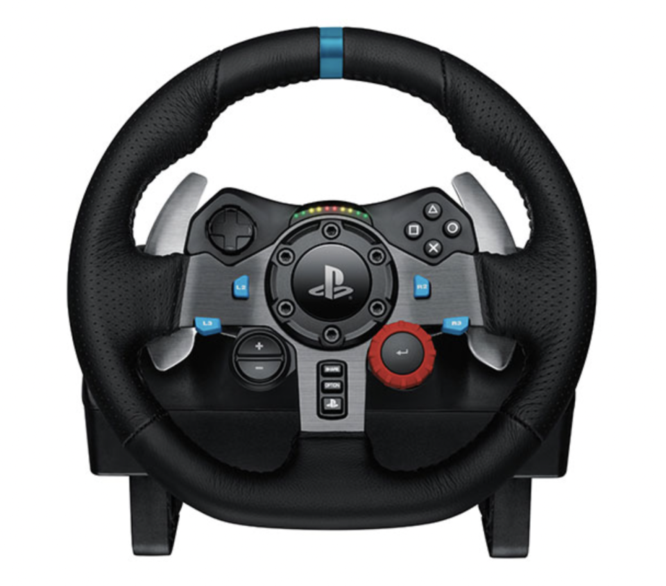 Logitech G29 Driving Force Racing Wheel for PlayStation/PC (Photo via Best Buy Canada)