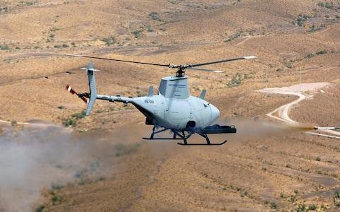 Surveillance drone helicopter - Credit: AFP
