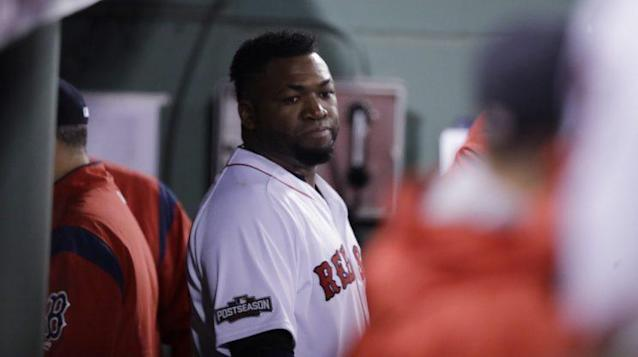 "<a class=""link rapid-noclick-resp"" href=""/mlb/players/5909/"" data-ylk=""slk:David Ortiz"">David Ortiz</a> seems to think someone was out to get him back in 2009. (AP)"