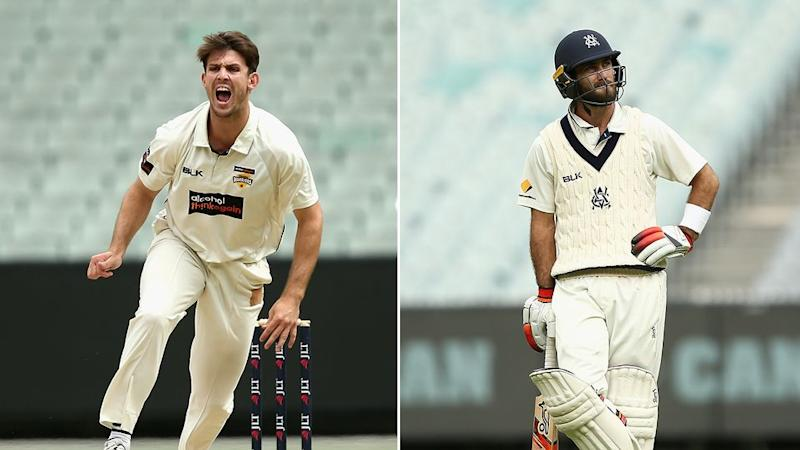 Hogg reckons Maxwell (R) was unlucky to be overlooked for Marsh (L). Pic: Getty