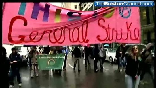 'Occupy' marchers return to Boston
