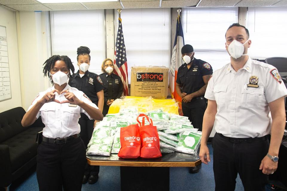BStrong provided PPE to NYC Dept. of Corrections workers.