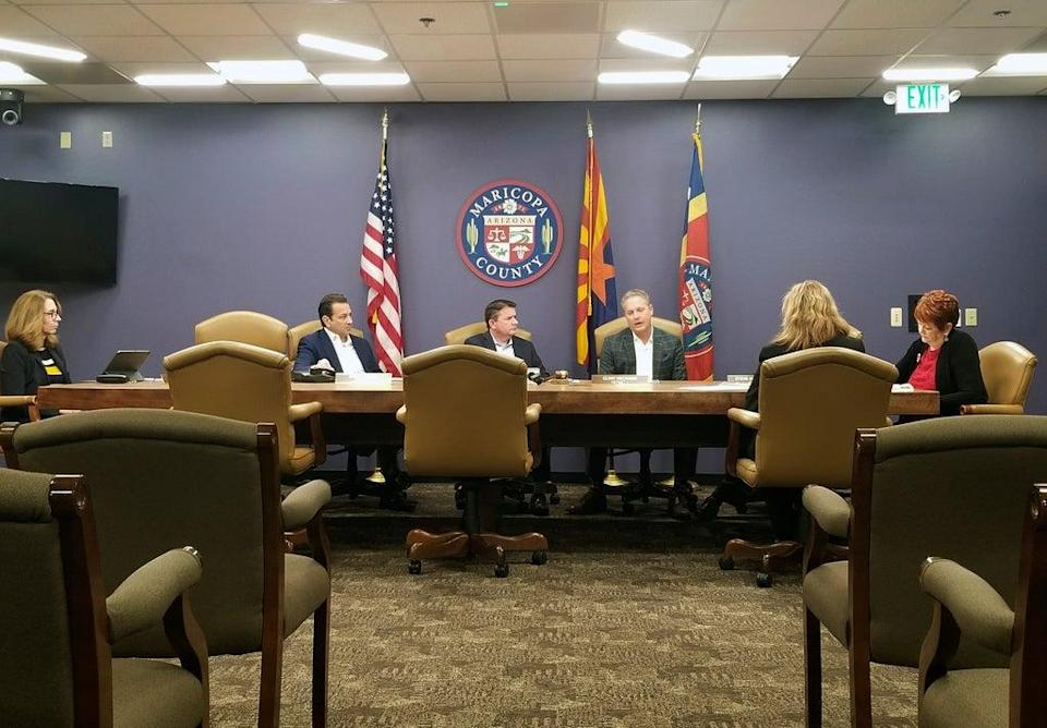 Arizona Election Review (Copyright 2019 The Associated Press. All rights reserved.)