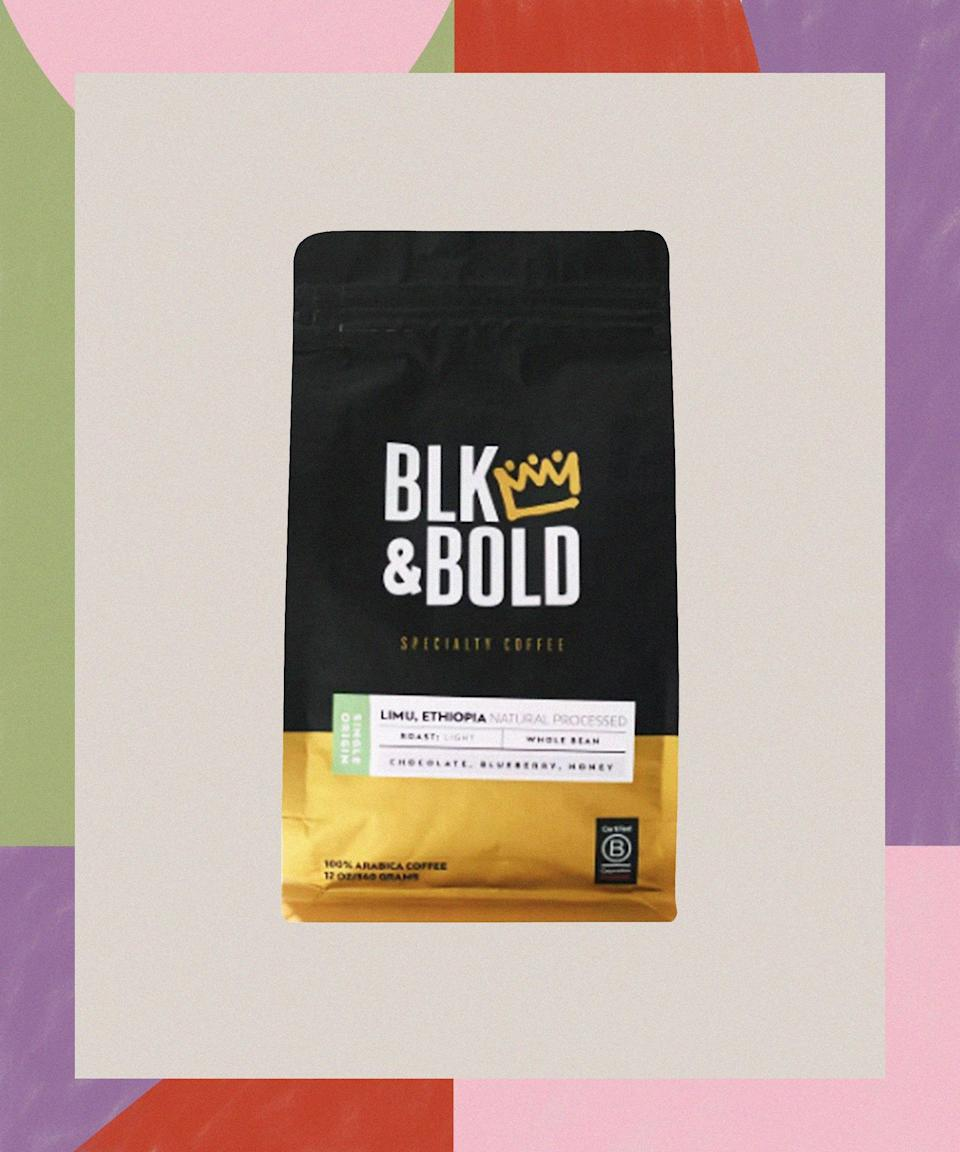 """<h2>Pernell Cezar and Rod Johnson, BLK & Bold Coffee</h2><strong>The Product<em>: </em>Limu Ethiopia Coffee</strong><br> <br>Childhood best friends Pernell Cezar and Rod Johnson wanted to create a business that not only gave them the opportunity to build something of their own, but also had social impact and supported the Black community. With Pernell's eight-plus years of experience in the retail/merchandising industry and Rod's career in nonprofit fundraising for academic and healthcare institutions, the duo ultimately came together to create sustainable and delicious coffee. After vetting the """"sourcing, sample roasting, testing integrity, measuring consistency"""" of more than 30 coffees, they landed on a blend with notes of chocolate and fruit flavors, processed in a way that requires significantly less water — and allows them to work closely with the Black-owned importer Keffa Coffee<em>.</em> <br><br><strong>BLK & Bold Specialty Beverages</strong> Limu Ethiopia Natural Processed, Light Roast Steeped, $, available at <a href=""""https://go.skimresources.com/?id=30283X879131&url=https%3A%2F%2Fwww.target.com%2Fp%2Fblk-38-bold-limu-ethiopia-natural-processed-light-roast-steeped-12oz%2F-%2FA-78594616"""" rel=""""nofollow noopener"""" target=""""_blank"""" data-ylk=""""slk:Target"""" class=""""link rapid-noclick-resp"""">Target</a>"""