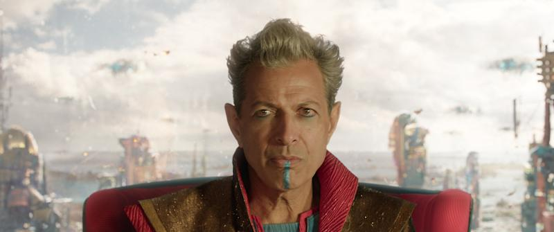 Jeff Goldblum in Thor: Ragnarok (Credit: Marvel)