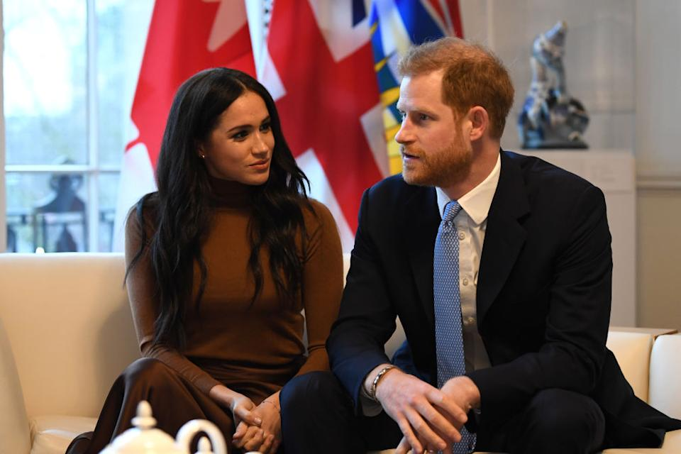 The couple have recently returned after spending Christmas in Canada with their son Archie [Photo: Getty]
