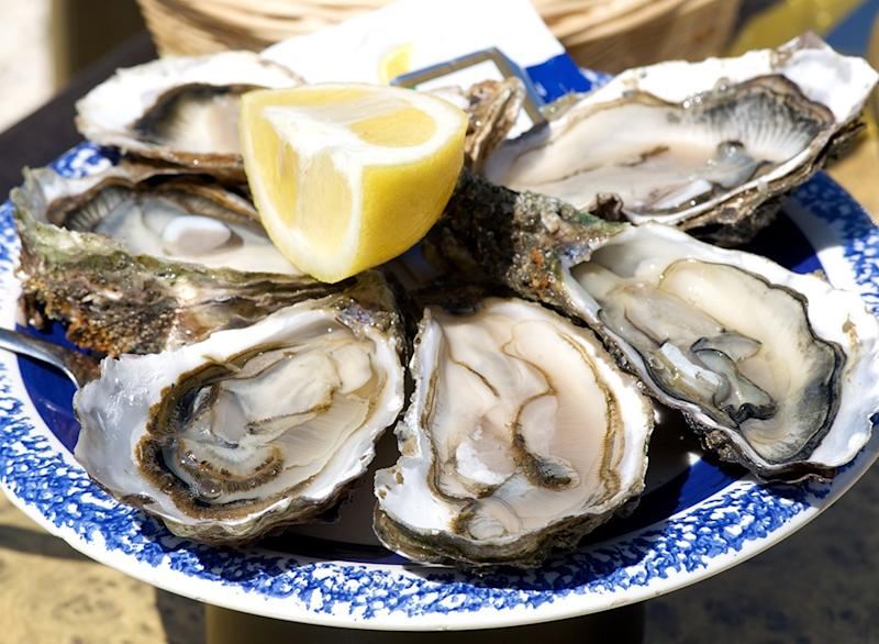 Fish ranked Wild Eastern Oysters
