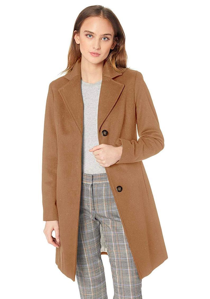 """Still need a solid wool-blend coat in your closet? Try this classic design from Calvin Klein. It's so timeless, you'll reach for it for years to come. $122, Amazon. <a href=""""https://www.amazon.com/Calvin-Klein-Womens-Classic-Cashmere/dp/B07BNJ7DH6"""" rel=""""nofollow noopener"""" target=""""_blank"""" data-ylk=""""slk:Get it now!"""" class=""""link rapid-noclick-resp"""">Get it now!</a>"""