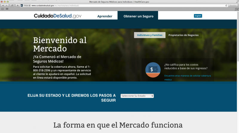 Health law's Spanish sign-up tools delayed