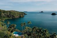 """<p>World's most remote pool? <a href=""""https://islassecas.com/"""" rel=""""nofollow noopener"""" target=""""_blank"""" data-ylk=""""slk:Secas"""" class=""""link rapid-noclick-resp"""">Secas</a> lies in a privately-owned archipelago of 14 beautiful islands and recently launched as a resort. It offers uninterrupted views across the Gulf of Chiriquí. tTotally off-grid, it sleeps up to 24 guests in casitas and tented casitas who can spend their days snorkelling and diving, trekking through Coiba National Park, paddleboarding and spotting migrating Humpback whale. It's special.</p>"""