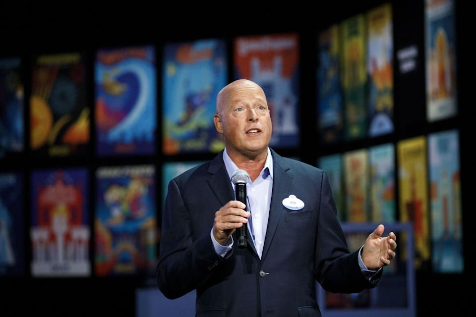 Bob Chapek, pictured here on Aug. 22 at the D23 Expo 2019, says Disney is committed to diverse storytelling. (Photo: Patrick T. Fallon/Bloomberg via Getty Images)