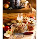 """<p>A classic with a twist, here each guest gets their own individual jar of apple crumble.</p><p><strong>Recipe: <a href=""""https://www.goodhousekeeping.com/uk/food/recipes/a560348/apple-crumble-pots/"""" rel=""""nofollow noopener"""" target=""""_blank"""" data-ylk=""""slk:Apple crumble pots"""" class=""""link rapid-noclick-resp"""">Apple crumble pots</a></strong></p>"""