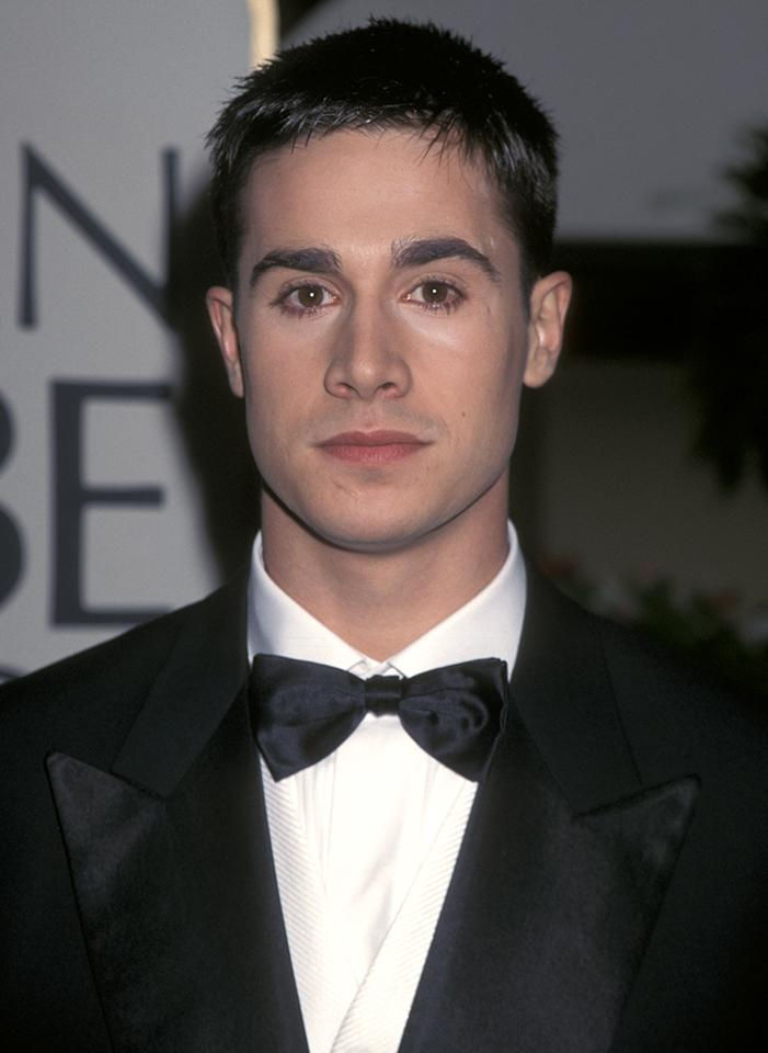 <p>One of the more successful Mr. Golden Globes, this second-generation star was still three years away from his breakout in 'She's All That' when he was tapped by the HFPA, sharing the honor the same year as Jaime Nicole Dudney, daughter of Barbara Mandrell. (Photo: Ron Galella/WireImage) </p>