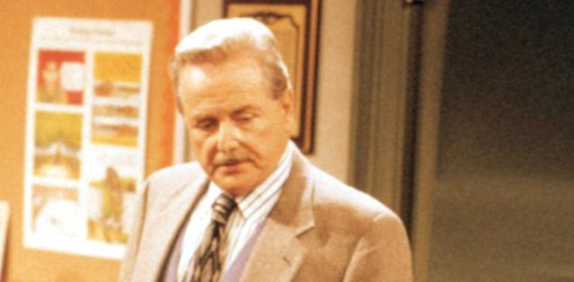 Daniels as Mr. Feeny on Boy Meets World. (Photo: Touchstone Television/courtesy Everett Collection)