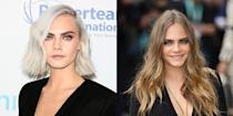 <p>As a model, Cara Delevingne has perfected her serious pout. But we still love seeing her flash a grin every now and then. </p>