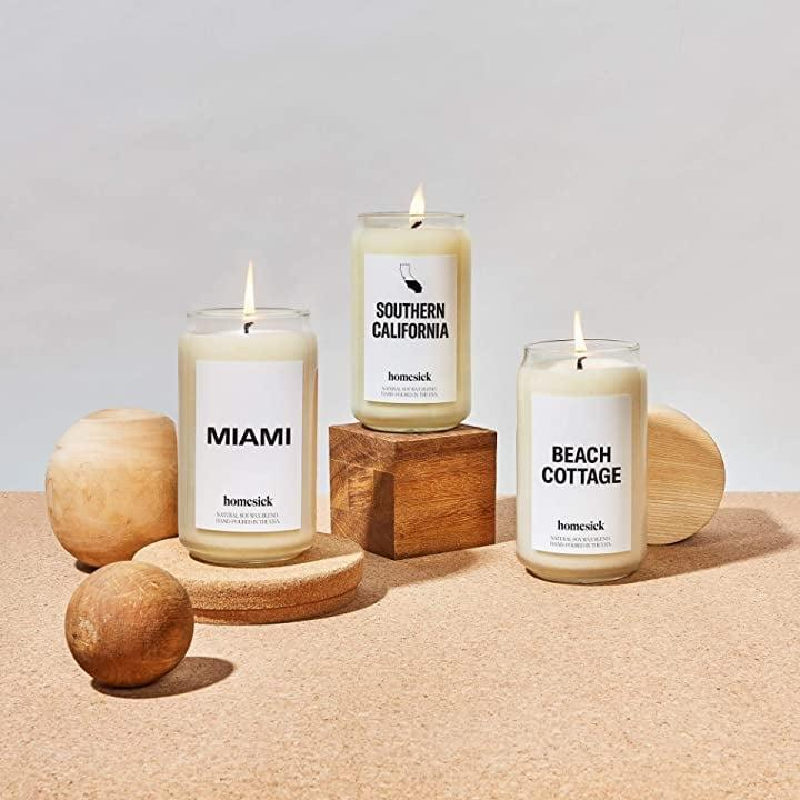 <p><span>Homesick Candles</span> ($30-$34) are truly a great gift for the one who moved away, especially if they can't make it back home for special events, birthdays, and even the holidays. You can choose between states, cities, countries and even specific memories!</p>