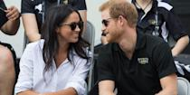 <p>Prince Harry makes his first public outing with Meghan Markle at the Invictus Games in Toronto.</p>