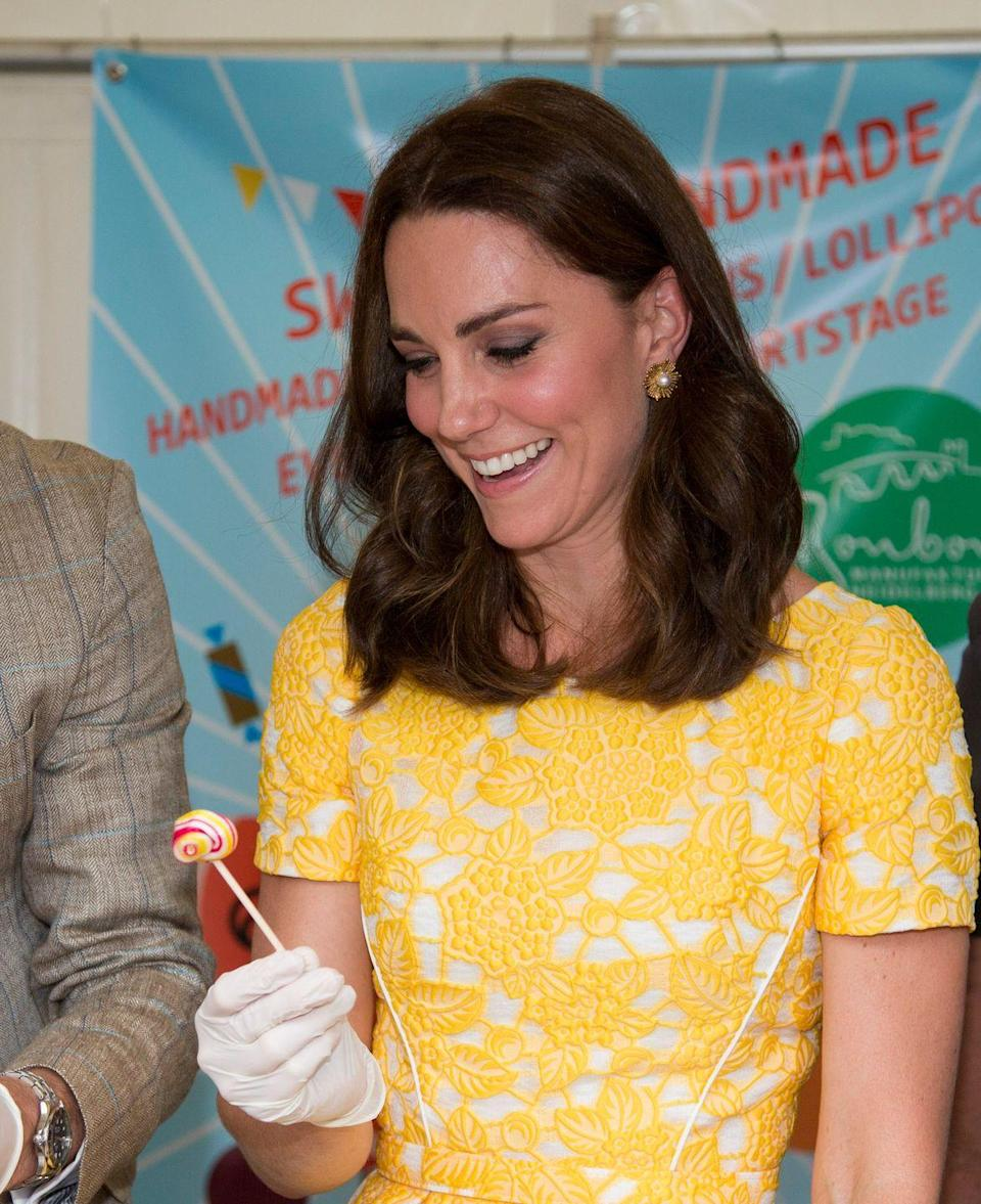 <p>Kate famously battled hyperemesis gravidarum during her pregnancies, which made it incredibly difficult for her to gain the weight needed to sustain herself. During those periods, she constantly turned to meals filled with healthy fats, like avocados, berries, and oatmeal. </p>