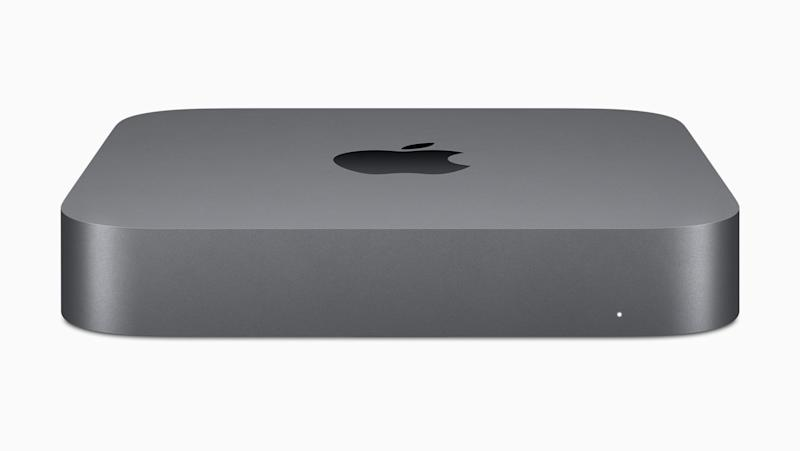 Apple intros new Mac mini with up to 64GB memory