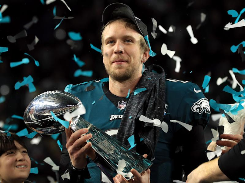 Another Super Bowl-winning QB gave Foles advice prior to big game