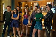 "<p>Throughout <strong><a href=""http://www.popsugar.com/Riverdale"" class=""link rapid-noclick-resp"" rel=""nofollow noopener"" target=""_blank"" data-ylk=""slk:Riverdale"">Riverdale</a></strong>, several teenagers' lives completely turn around as more secrets are uncovered. If you liked that aspect of <strong>The Wilds</strong>, you'll probably love <strong><a class=""link rapid-noclick-resp"" href=""https://www.popsugar.com/Riverdale"" rel=""nofollow noopener"" target=""_blank"" data-ylk=""slk:Riverdale"">Riverdale</a></strong> for that same reason. Plus, <strong><a class=""link rapid-noclick-resp"" href=""https://www.popsugar.com/Riverdale"" rel=""nofollow noopener"" target=""_blank"" data-ylk=""slk:Riverdale"">Riverdale</a></strong> already has four seasons ready to watch, and <a href=""https://www.popsugar.com/entertainment/riverdale-season-5-details-47470257"" class=""link rapid-noclick-resp"" rel=""nofollow noopener"" target=""_blank"" data-ylk=""slk:a fifth is coming"">a fifth is coming</a>!</p> <p><a href=""https://www.netflix.com/title/80133311"" class=""link rapid-noclick-resp"" rel=""nofollow noopener"" target=""_blank"" data-ylk=""slk:Watch Riverdale on Netflix."">Watch <strong>Riverdale</strong> on Netflix.</a></p>"