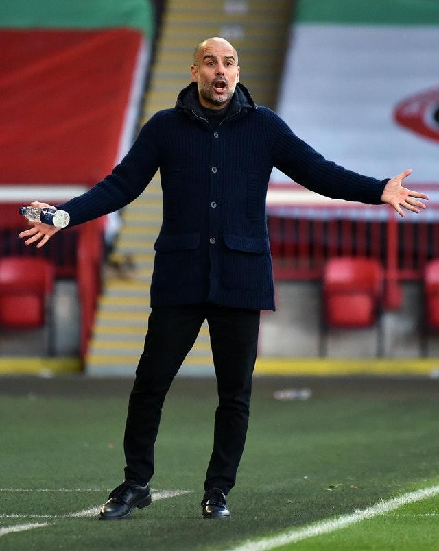 Guardiola feels some of the joy has been lacking this season