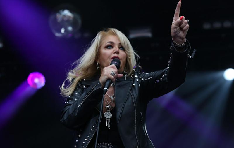 Bonnie Tyler has belted out her hit 'Total Eclipse of the Heart' for this year's actual solar eclipse. Source: Getty