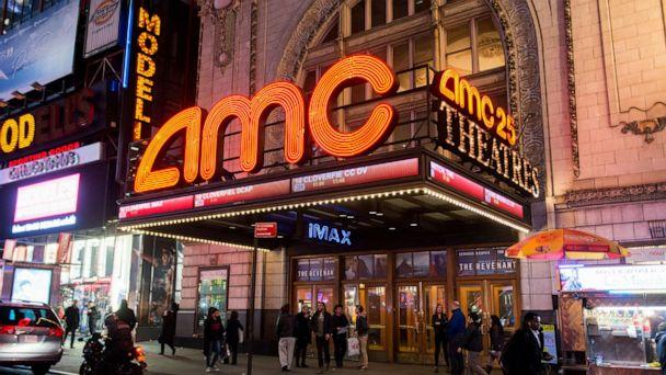 PHOTO: General view of atmosphere outside the AMC Empire 25 theater, March 15, 2016, in New York City. (Noam Galai/Getty Images, FILE)