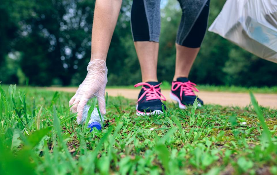 Plogging (litter picking and jogging) is on the rise (Getty Images)