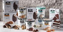 """<p>So Delicious offers flavors made from cashew, oat, coconut, almond, and soy milks, with products like ice cream sandwiches, bars, and pints. There's literally no wrong choice here, it's all <em>so delicious</em>. (Sorry, had to.)</p><p><em>Our choice: Mocha Almond Fudge</em></p><p><a class=""""link rapid-noclick-resp"""" href=""""http://sodeliciousdairyfree.com/products/oatmilk-frozen-desserts/peanut-butter-raspberry"""" rel=""""nofollow noopener"""" target=""""_blank"""" data-ylk=""""slk:BUY NOW"""">BUY NOW</a></p>"""