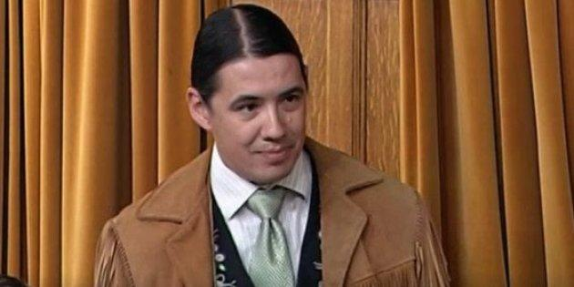Robert-Falcon Ouellette speaks in the House of Commons on May 4, 2017. The MP is under fire for saying he felt bad for both the Boushie and Stanley families after Gerald Stanley was acquitted of second-degree murder in the shooting death of Colten Boushie.