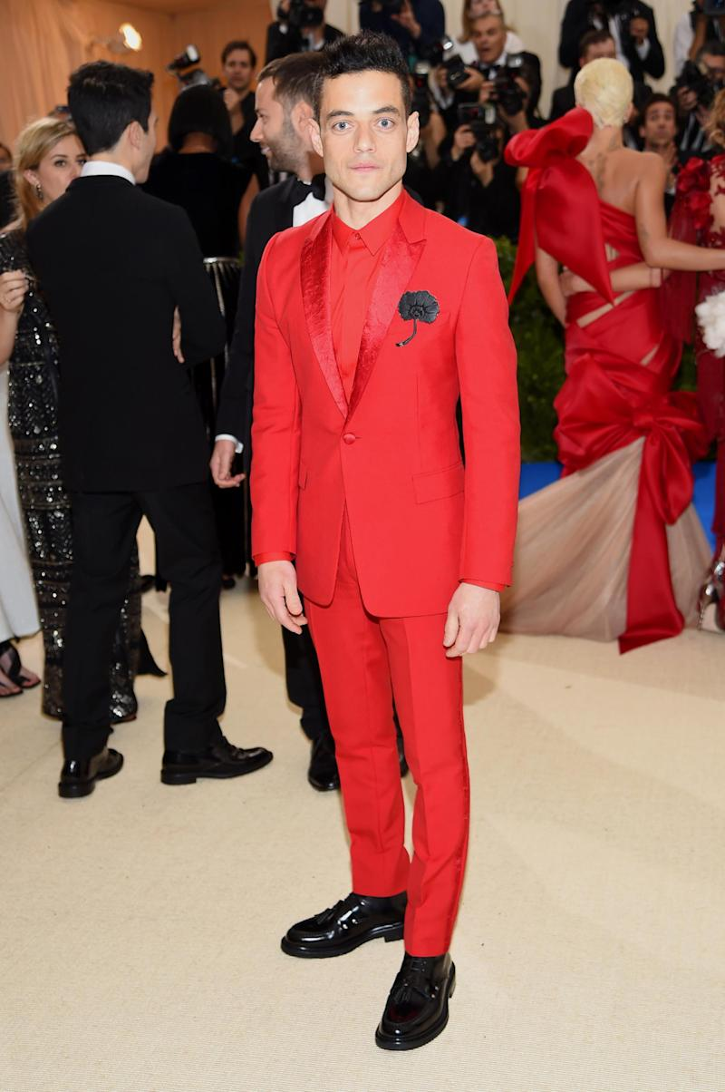 Wearing Dior Homme to the Met Gala (Getty Images)