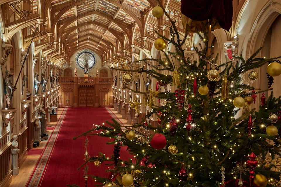 <p>The tree was felled from Windsor Great Park</p>PA