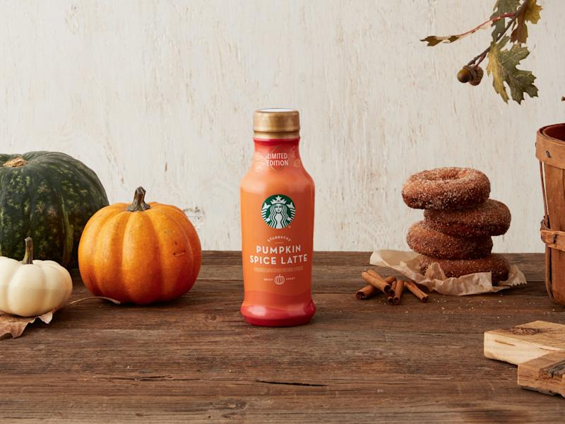 Starbucks bottled pumpkin spice latte to hit stores in August