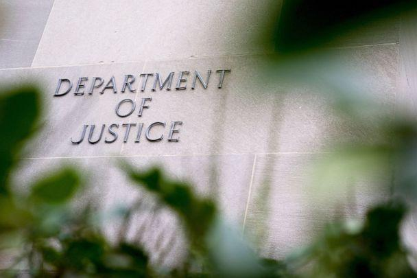 PHOTO: The Department of Justice building stands in Washington, D.C., Dec. 4, 2020. (Bloomberg via Getty Images)