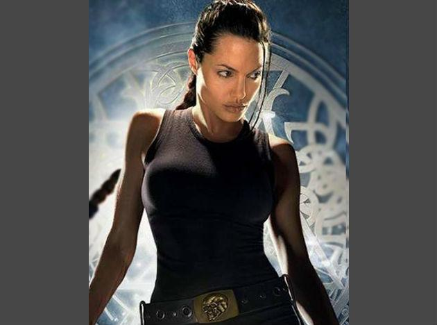 <b>Angelina Jolie</b> She owes her fabulous figure to activities like kickboxing and bungee ballet. Angelina started kickboxing to get that perfect look for her role as Lara Croft. Not only is kickboxing a great calorie burner, it also tones your muscles. Apart from that, she did her workouts in tandem with a high protein diet. After child birth, she turned to yoga to get a lean look.