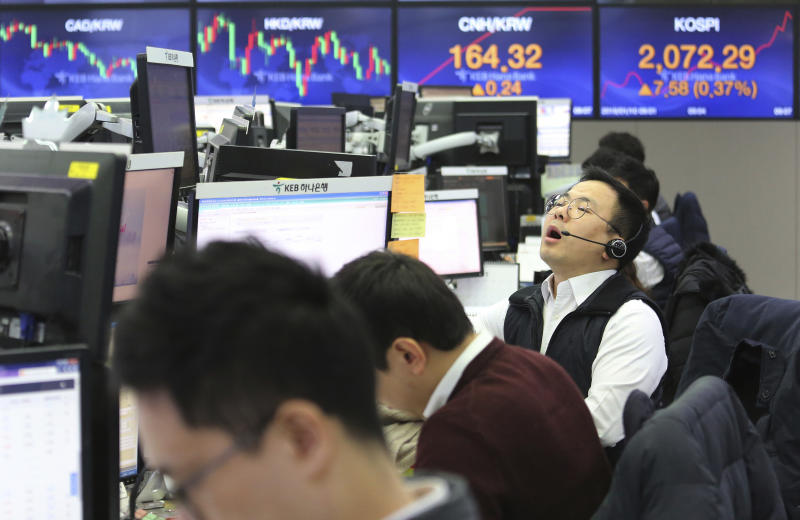 Stock market rally fades as US-China trade talks wrap up