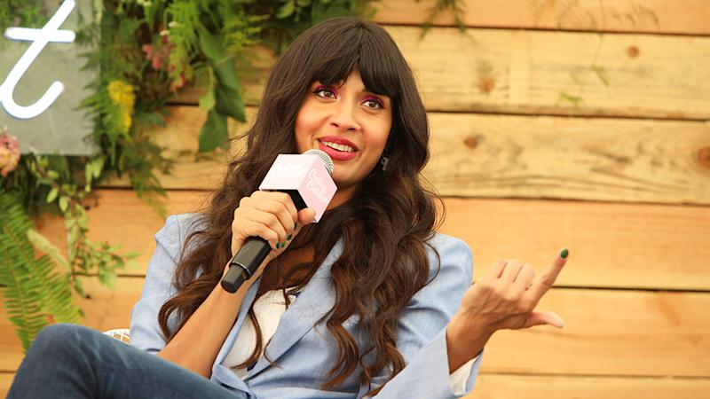 Jameela Jamil has denounced the comments on Instagram. Photo: Getty Images