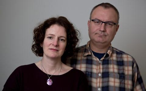 Rosalind and Gareth Mason criticised the report's surpression - Credit: Heathcliff O'Malley