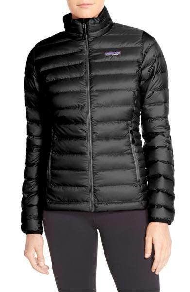 "This <a href=""https://shop.nordstrom.com/s/patagonia-packable-down-jacket/3921506?origin=category-personalizedsort&fashioncolor=ELWHA%20BLUE"" target=""_blank"">ultra-versatile, featherweight and water-resistant down jacket</a> keeps you warm and dry whether you're walking to the gym or heading up a mountain."