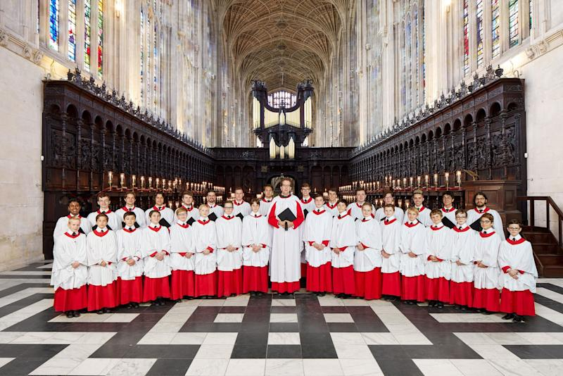 Traditional: The King's College choir (Leon Hargreaves/King's College)