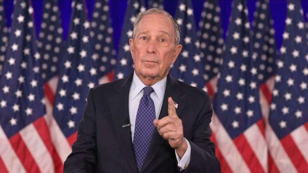 PHOTO: Former New York Mayor Michael Bloomberg addresses the 2020 Democratic National Convention, Aug. 20, 2020. (Democratic National Convention)