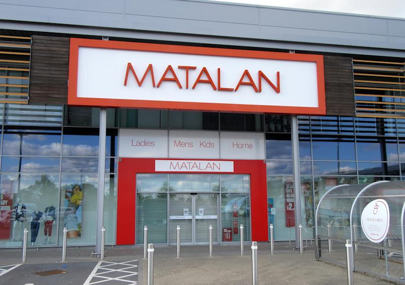 -, UNITED KINGDOM - 2020/03/04: Matalan logo seen at one of their retail store branches. (Photo by Keith Mayhew/SOPA Images/LightRocket via Getty Images)