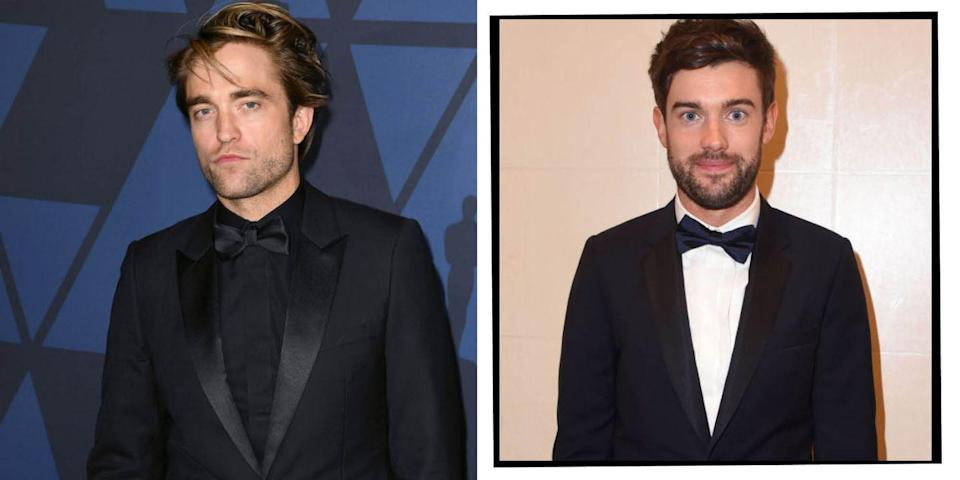 """<p>Both Pattinson and Whitehall attended the independent prep school Tower House School in south west London. Whitehall has recalled going to school with Pattinson in his <a href=""""https://www.youtube.com/watch?v=dXXaRoZyC9o"""" rel=""""nofollow noopener"""" target=""""_blank"""" data-ylk=""""slk:stand up comedy routines,"""" class=""""link rapid-noclick-resp"""">stand up comedy routines,</a> like the time he joked about how everyone always has a 'Mr Perfect' at school to contest with, and his was... Robert Pattinson. </p>"""