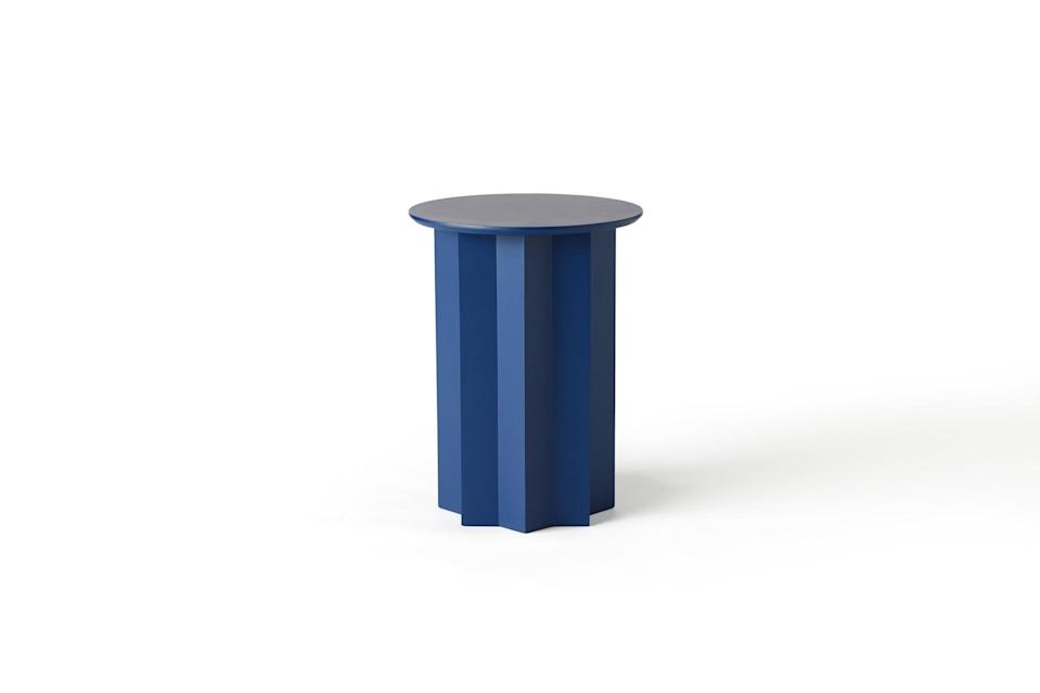 <p>This <span>Drew Barrymore Flower Home Pedestal Accent Table</span> ($129) is so modern and cool.</p>