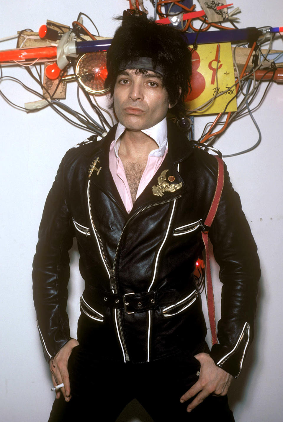Alan Vega was the co-founder of the incredibly influential NYC synth-punk duo Suicide. He died in his sleep at age 78 on July 16, just a couple months before Suicide were set to headline the Desert Daze festival in California. (Photo: Getty)