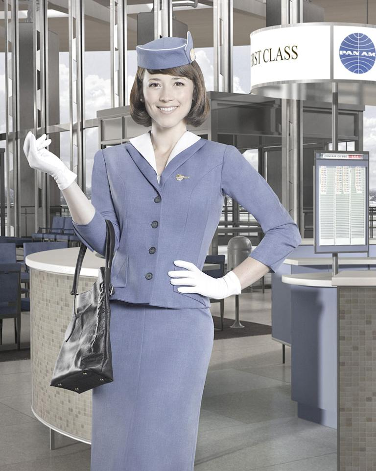 "PAN AM - ABC's ""Pan Am"" stars Karine Vanasse as Colette. (ABC/BOB D'AMICO)"