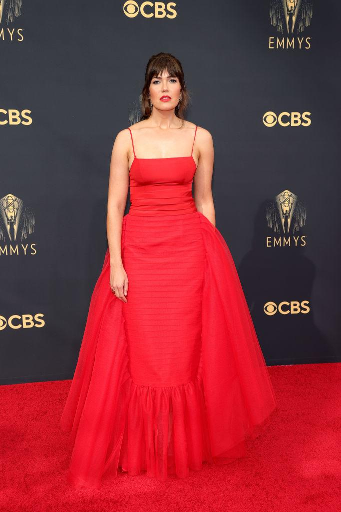 Mandy Moore attends the 73rd Primetime Emmy Awards on Sept. 19 at L.A. LIVE in Los Angeles. (Photo: Rich Fury/Getty Images)
