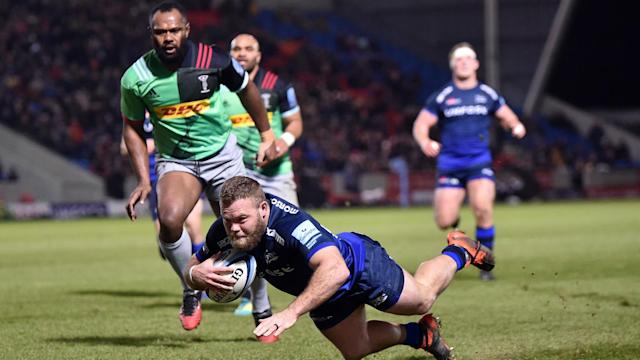 It was a night to forget for Harlequins on Friday, as they were thrashed by a rampant Sale Sharks side in Premiership action.