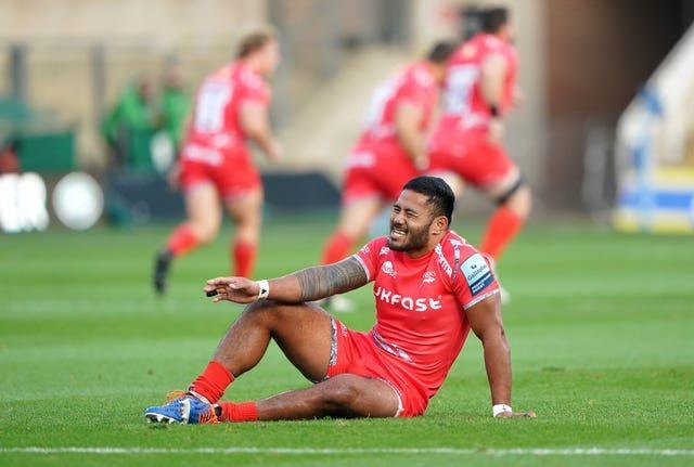 Manu Tuilagi damaged his achilles playing against Northampton in September